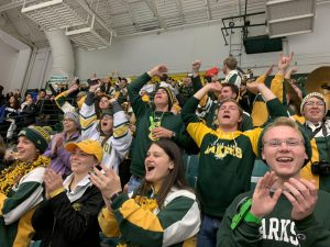 The Clarkson University Pep Band